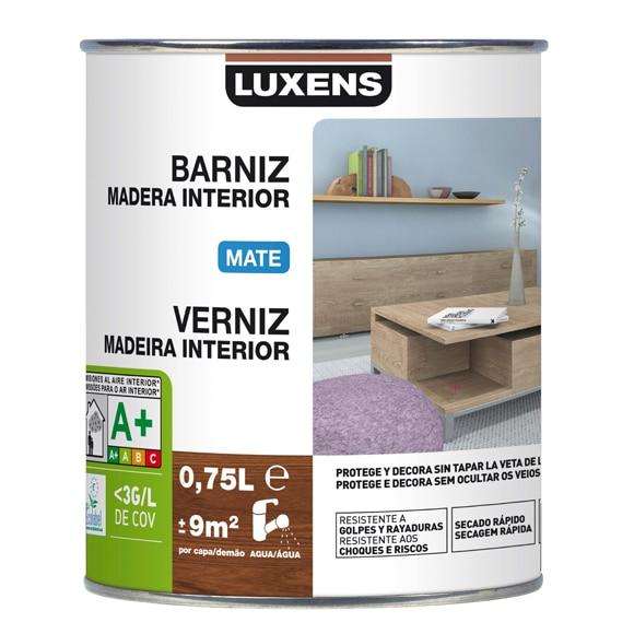 Barniz de interior luxens mate caoba ref 16699515 leroy - Barniz para madera interior ...
