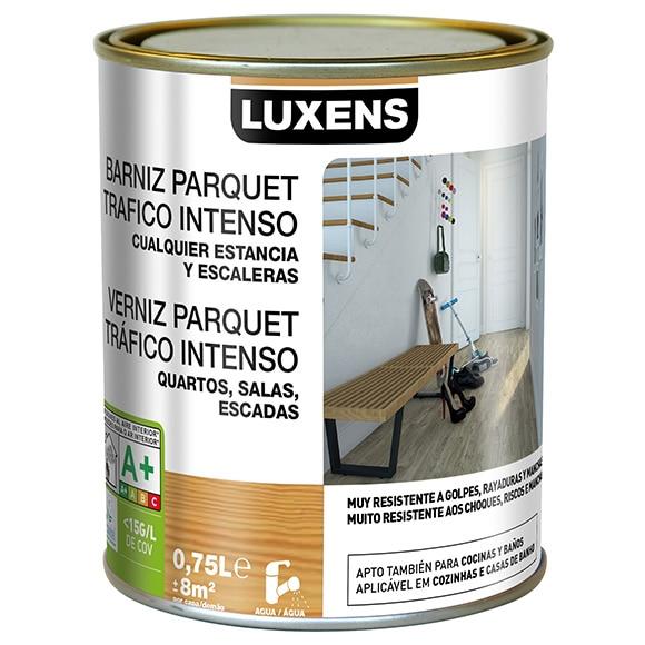 Barniz para suelos luxens parquet brillo incoloro ref - Barniz para parquet ...