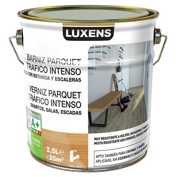 Barniz para suelos luxens parquet mate incoloro ref - Barniz para parquet ...