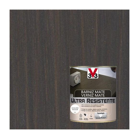 Barniz de interior ultraresistente mate v33 wengu mate for Pintura para radiadores leroy merlin