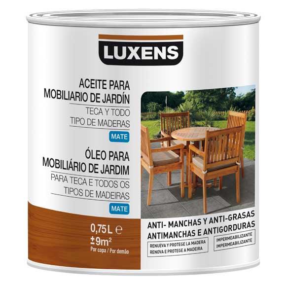 Aceites para maderas de exterior