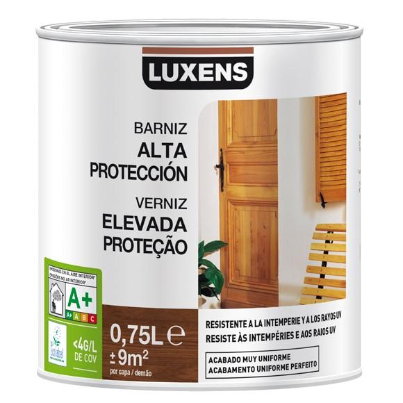Productos para la madera barniz exterior luxens casta o - Tipos de barniz para madera exterior ...