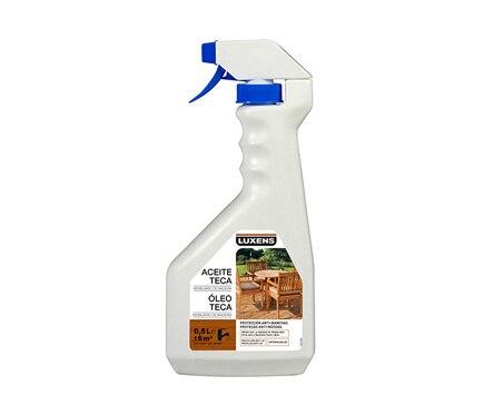 Aceite de teca en spray luxens aceite teca spray madera - Aceite de teca para madera ...