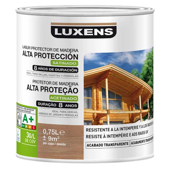 PROTECTOR EXTERIOR LD LUXENS CEREZO SATINADO