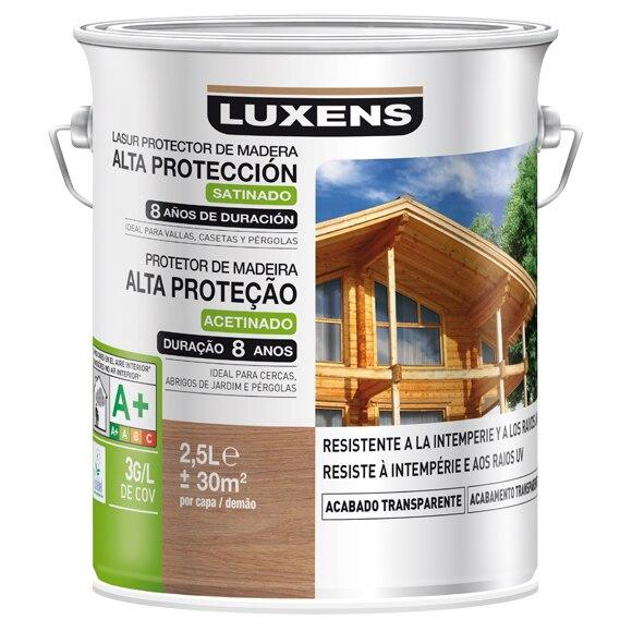 Productos para la madera protector exterior ld luxens - La mejor madera para exterior ...