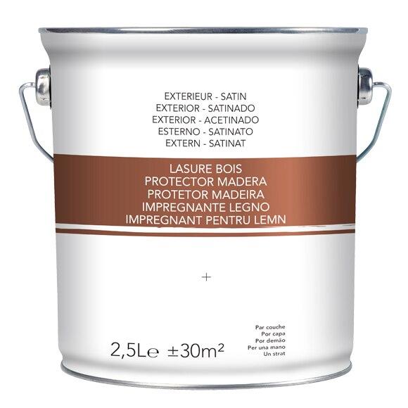 Productos para la madera protector exterior nogal satinado - Barnices para madera exterior ...