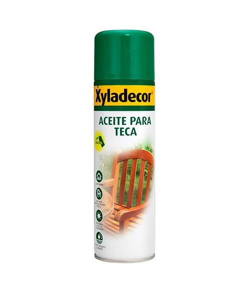 Aceite de teca en spray xyladecor aceite para teca spray - Aceite de teca para madera ...