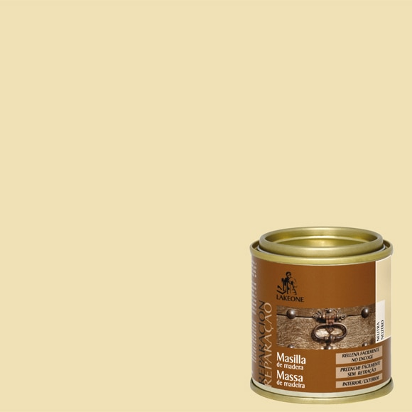 Masilla para madera lakeone neutro ref 13554905 leroy - Masilla para madera casera ...