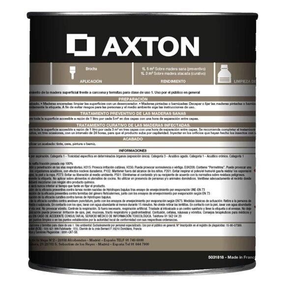 Matacarcomas y anti termitas axton tratamiento del mueble - Tratamiento carcoma muebles ...
