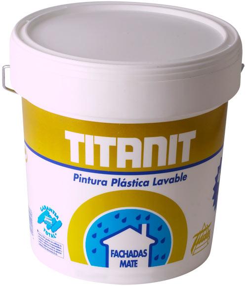 Pintura para fachadas titanlux titanit beige ref 16406306 for Pintura beige pared
