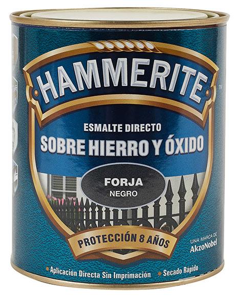 Pintura hierro hamerite forja negro ref 15960343 leroy - Pinturas para metal ...