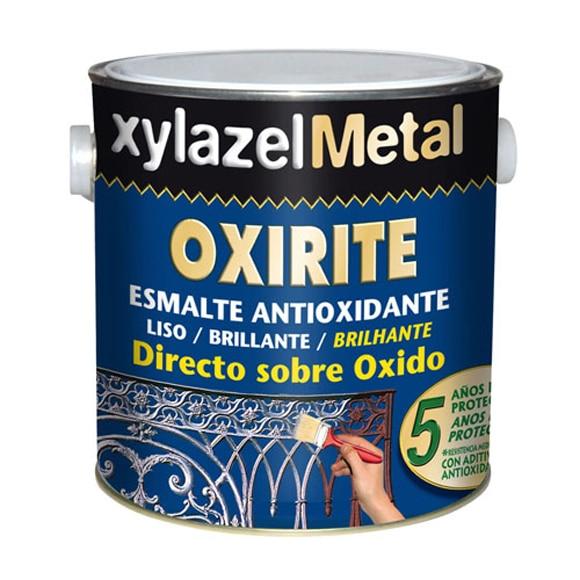 Pintura anti xido brillante oxirite oxirite gris perla for Pintura gris perla bruguer