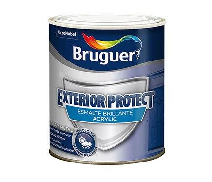 Pintura especial bruguer esmalte exterior protect - Pintura exterior leroy merlin ...