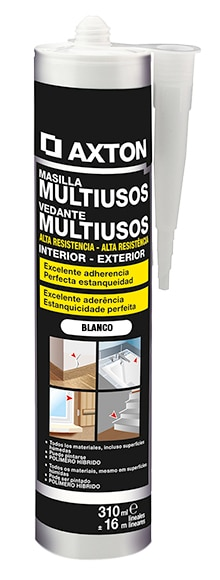 Sellador pol mero multiusos blanco leroy merlin for Mobiletti multiuso leroy merlin