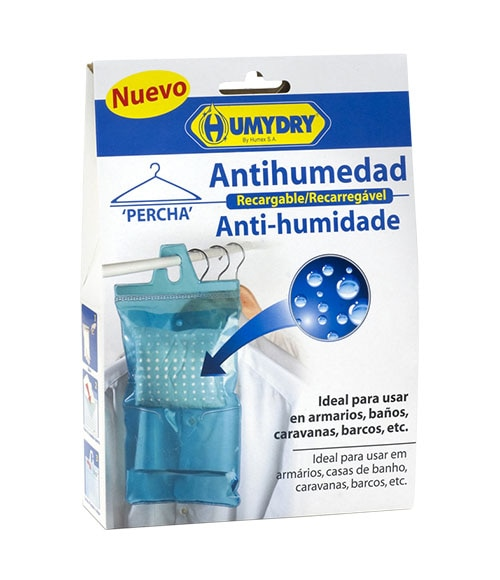Antihumedad en percha recargable leroy merlin for Absorbentes de humedad mercadona