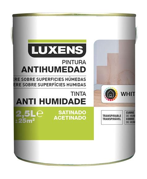 pintura antihumedad luxens blanco satinado ref 19381474