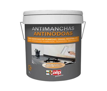 Pintura antimanchas alp pinturas pintura antimanchas ref for Pintura aislante acustica leroy merlin
