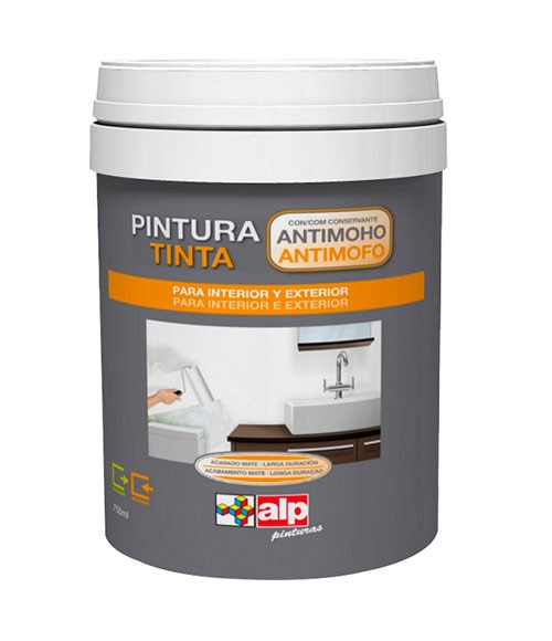 Impermeabilizante pintura antimoho alp ref 13813471 for Pintura magnetica leroy merlin