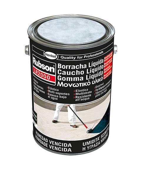 Caucho l quido impermeabilizante rubson caucho l quido - Pintura para impermeabilizar terrazas ...