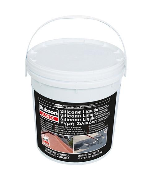 Silicona l quida blanca rubson impermeabilizante silicona for Guaina liquida leroy merlin