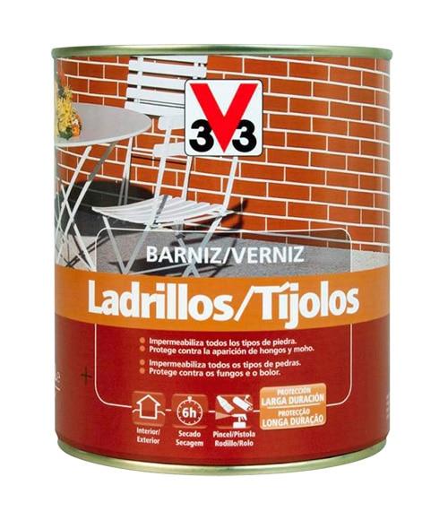 Barniz impermeabilizante exterior v33 mate incoloro ref - Precio pintura exterior leroy merlin ...