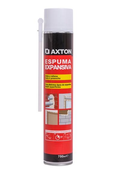 Espuma de poliuretano axton multiusos ref 16154810 - Espuma alta densidad leroy merlin ...