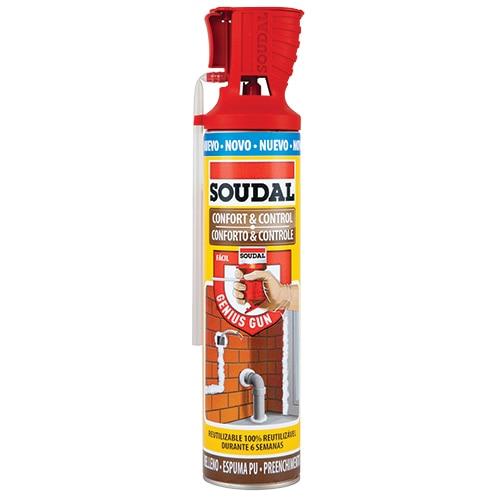 Espuma de poliuretano soudal multiusos ref 16154845 - Espuma poliuretano leroy merlin ...