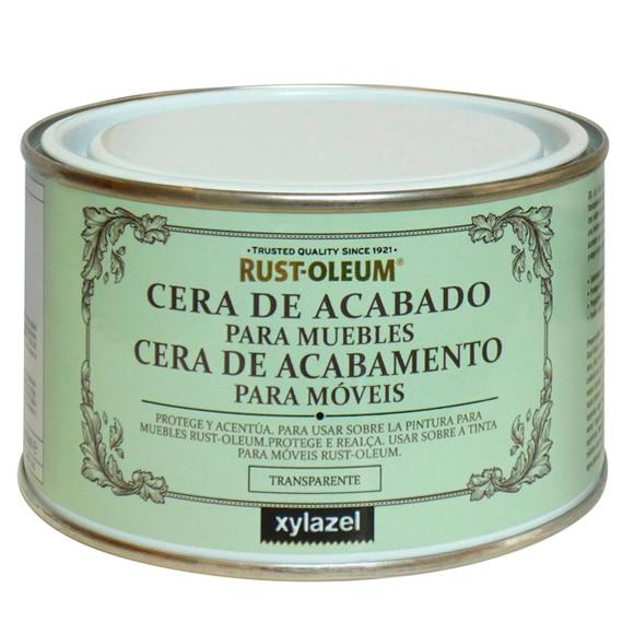 Cera de acabado para muebles 400 ml rustoleum cera de - Pintura ala tiza leroy merlin colores ...