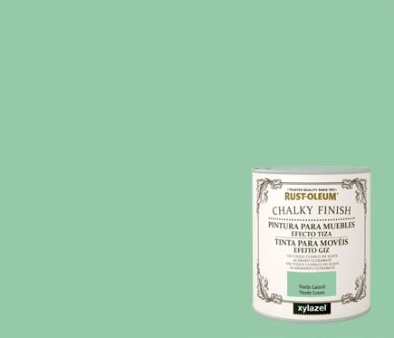 Rustoleum Pintura para muebles 750 ml CHALKY FINISH VERDE LAUREL