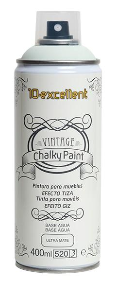 Pintura para muebles 400 ml chalky vintage aguamar ref - Pintura vintage leroy merlin ...