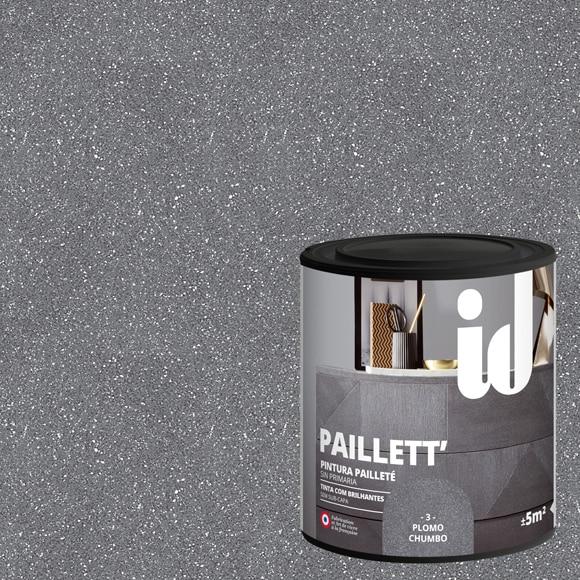 Pintura para mueble 500 ml id efecto metalizado purpurina - Leroy merlin pinturas decorativas ...