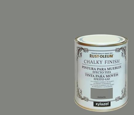 Pintura para muebles 750 ml rustoleum efecto tiza - Pintura efecto envejecido leroy merlin ...