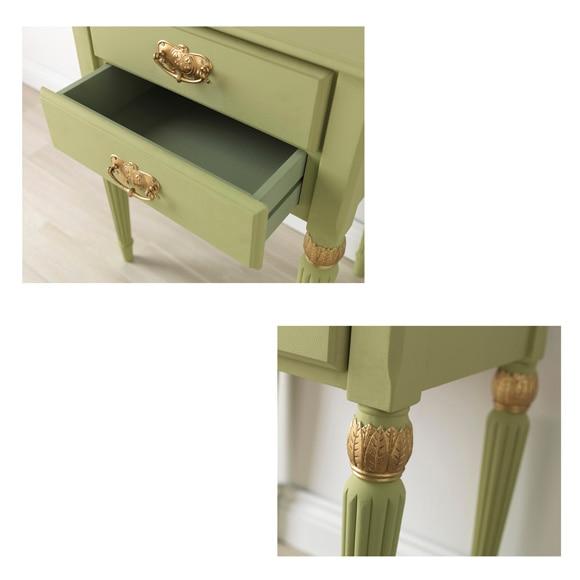 Pintura para muebles 750 ml rustoleum efecto tiza oliva - Pinturas decorativas leroy merlin ...