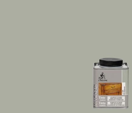 Tinte gris para madera
