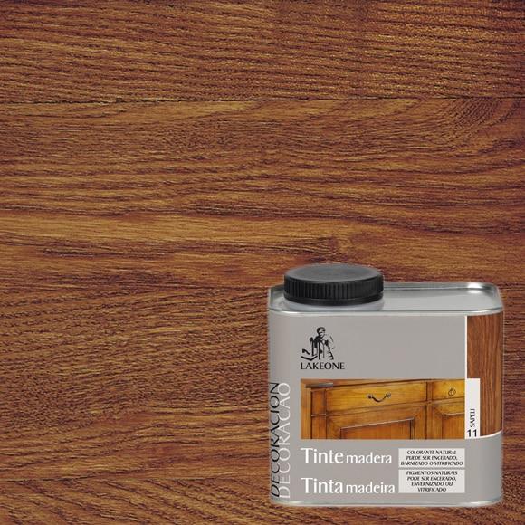 Tinte para madera lakeone tinte para madera sapeli ref - Tinte para madera ...