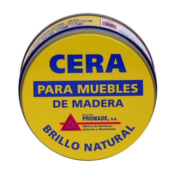 Cera para muebles Productos Promade CERA PARA MUEBLES NATURAL Ref ...