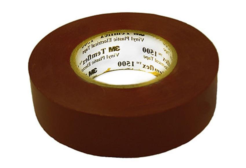cinta aislante 3m marr n 20 m x 19 mm ref 11081315