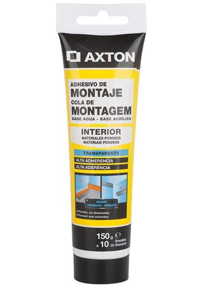 Armario Giratorio Cocina ~ Adhesivo de montaje en tubo Axton TRANSPARENTE Ref 16715573 Leroy Merlin