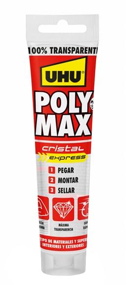 Aparador Cozinha ~ Adhesivo de montaje en tubo UHU POLYMAX CRISTAL Ref 17759315 Leroy Merlin