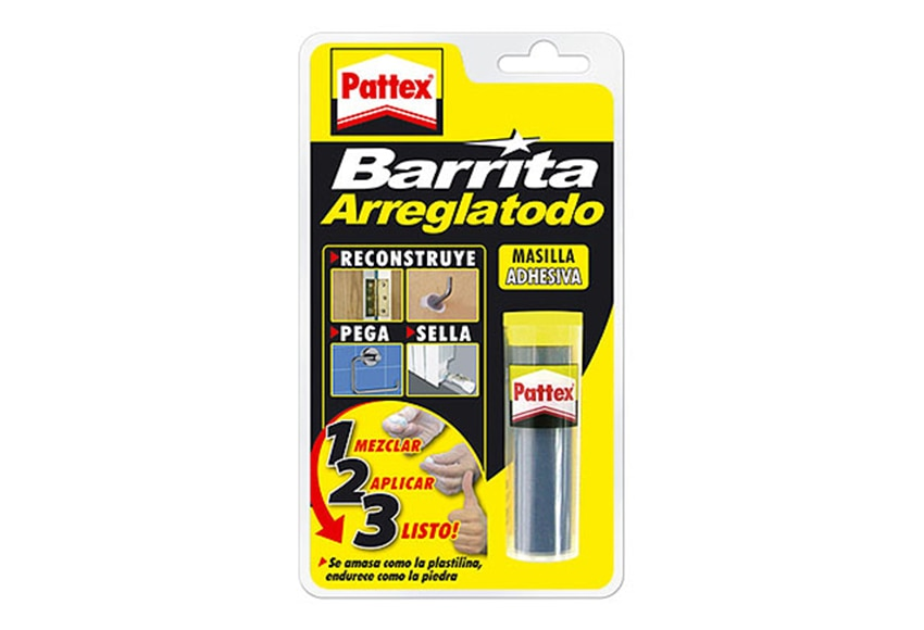 Masilla pegamento extra fuerte pattex barrita arreglatodo - Pattex barrita arreglatodo ...