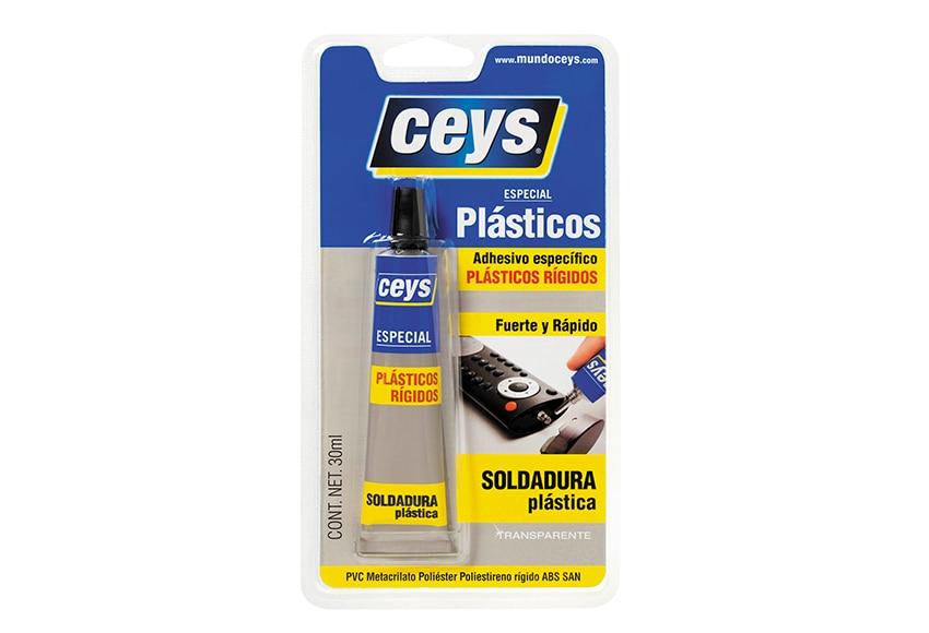 Adhesivo soldador ceys plasticceys plasticos rigidos 30 ml - Pegamento para plastico resistente al agua ...