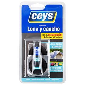 99a62f33a73 Kit de reparación adhesivo Ceys LONA CAUCHO