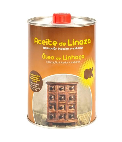 Aceite de linaza cpp aceite de linaza ref 16133761 - Aceite de linaza para madera ...