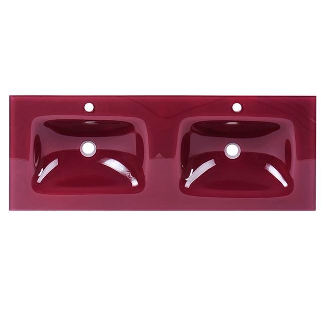 Lavabos Para Baño De Cristal:Lavabo de baño SERIE CRISTAL OPTICO Ref 16735985 – Leroy Merlin