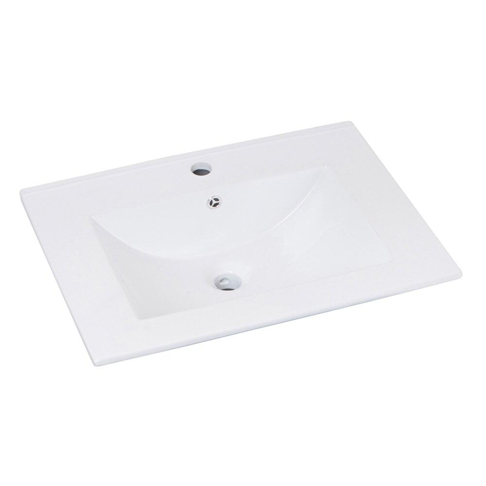 Lavabos Para Baño Medidas:Lavabo de baño SERIE MAX Ref 16736454 – Leroy Merlin