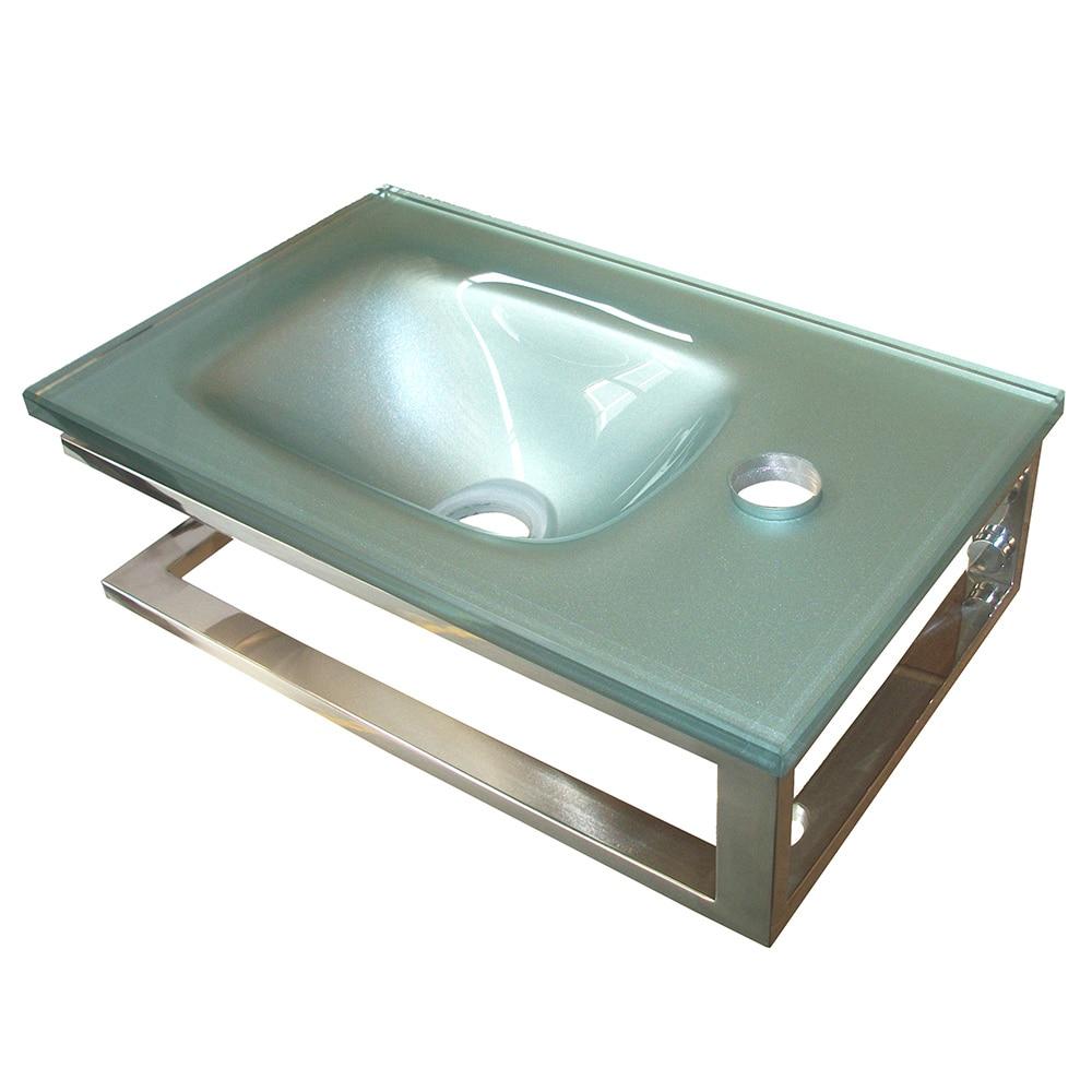 Lavabo de ba o soporte serie mini ref 15480906 leroy - Lavabos de cristal leroy merlin ...