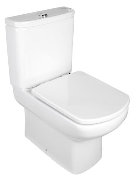 Pack de wc con salida a suelo o pared roca eos ref for Inodoro roca eos opiniones