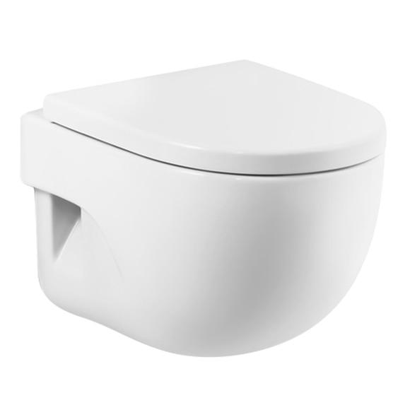 Inodoro suspendido meridian compacto blanco ref 14741223 for Inodoro meridian compacto
