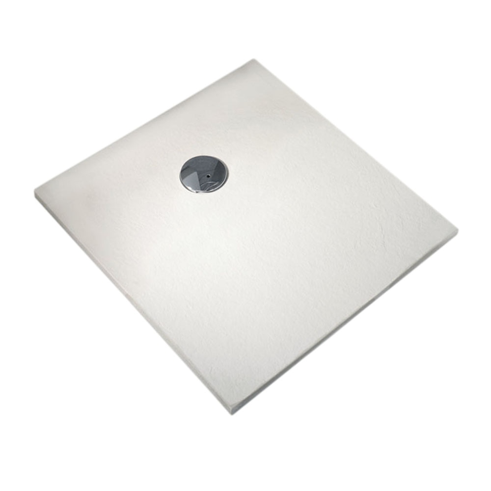 Plato de ducha carga mineral compact cuadrado ref for Plato ducha leroy