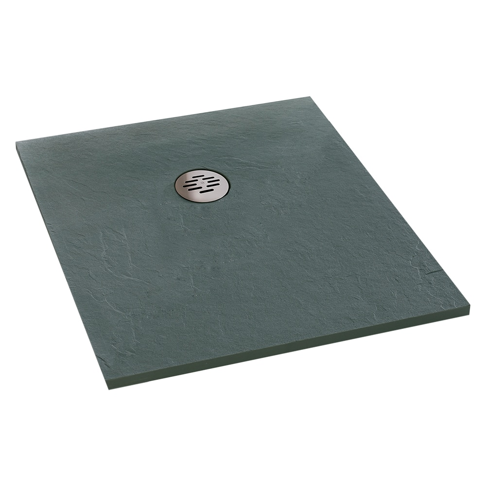 Plato de ducha carga mineral compact cuadrado ref - Platos de ducha carga mineral ...